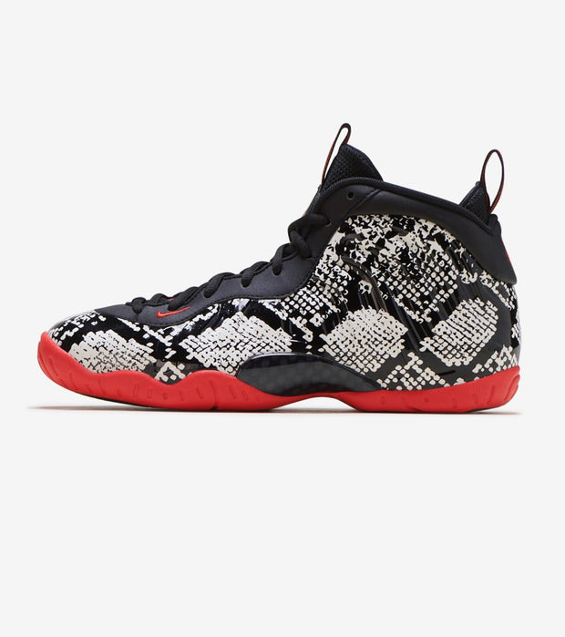 "Nike  Little Posite One ""Snakeskin""  Black - 644791-104 