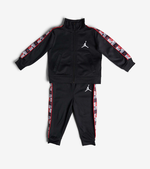 Jordan  Boys Infant AJ Legacy Tricot Pant Set  Black - 656389-023 | Jimmy Jazz