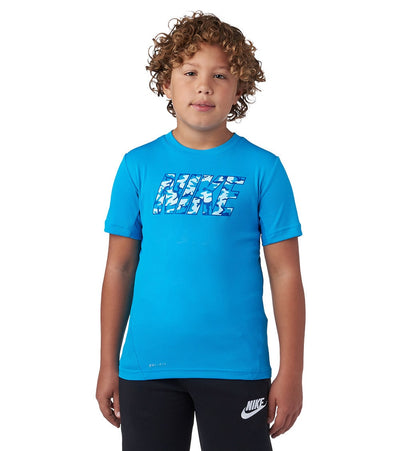 Nike  Sign Short Sleeve Tee  Blue - 667693-407 | Jimmy Jazz
