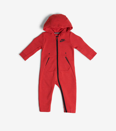 Nike  Infant Tech Fleece Coverall  Red - 66C547-R1U | Jimmy Jazz