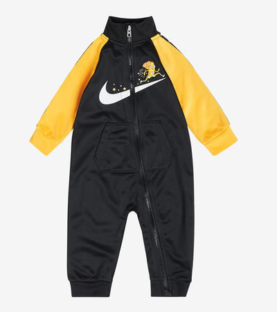 Nike  Newborn Nike Zip Coverall  Black - 66H105G-023 | Jimmy Jazz