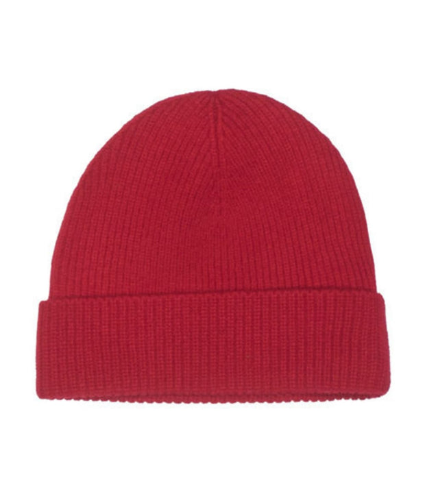 Polo Ralph Lauren  Signature Merino Cuff Winter Beanie  Red - 6F0101-611 | Jimmy Jazz