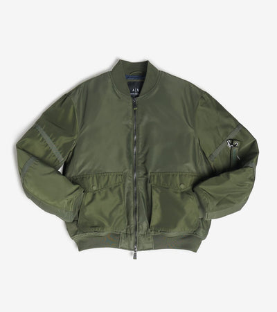 Armani Exchange  Bomber Jacket With Cargo Pockets  Green - 6GZB12ZNPHZ-1842 | Jimmy Jazz