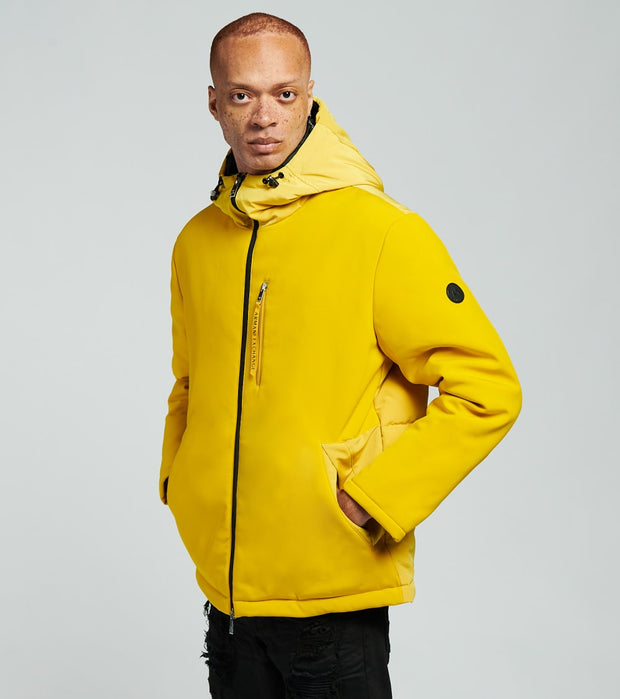 Armani Exchange  Zip Up Blouson Jacket  Yellow - 6HZB06ZNNEZ1605 | Jimmy Jazz