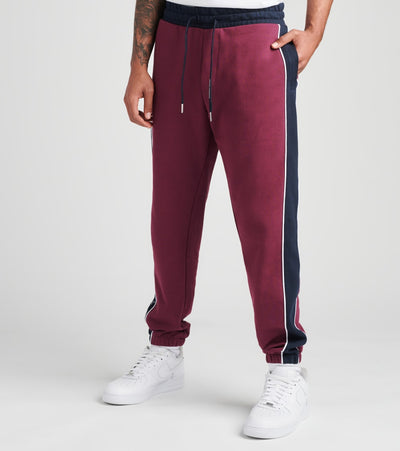 Armani Exchange  Logo Drawstring Sweatpants  Purple - 6HZPAAZJ7RZ7289 | Jimmy Jazz