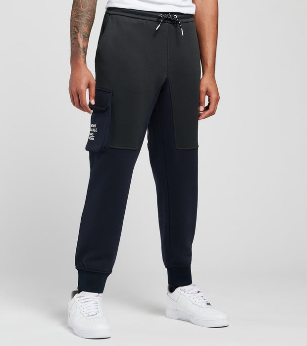 Armani Exchange  Pocket Drawstring Sweatpants  Black - 6HZPLCZJLBZ6707 | Jimmy Jazz