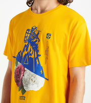A.K.O.O.  Flower Child Tee  Yellow - 7011203-YEL | Jimmy Jazz
