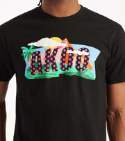 A.K.O.O.  Flag Tee  Black - 7011210-BLK | Jimmy Jazz