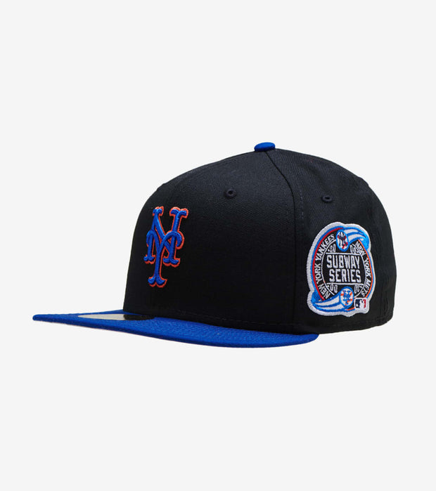 New Era  New Era Mets Subway Series Fitted Cap  Black - 70151674-ERA | Jimmy Jazz