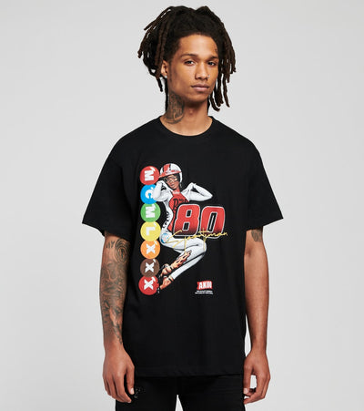 A.K.O.O.  Passion Short Sleeve Tee  Black - 7017202-BLK | Jimmy Jazz