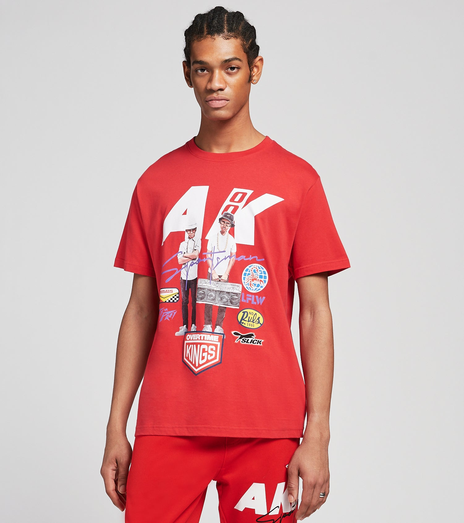 A.K.O.O.  AKOO Kids Short Sleeve Tee  Red - 7017203-RED | Jimmy Jazz