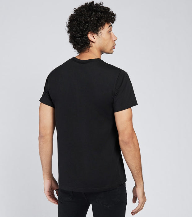 A.K.O.O.  Painted Snobby Short Sleeve Tee  Black - 7018311-BLK | Jimmy Jazz