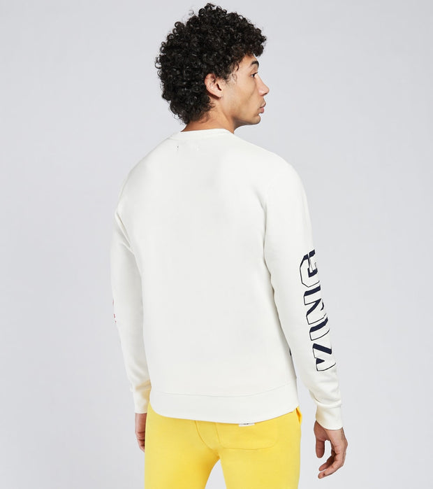 A.K.O.O.  Slick Crew Neck Sweatshirt  White - 7018315-WWT | Jimmy Jazz