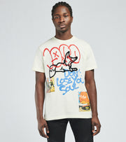 A.K.O.O.  Yearbook Short Sleeve Tee  White - 7019305-BWT | Jimmy Jazz
