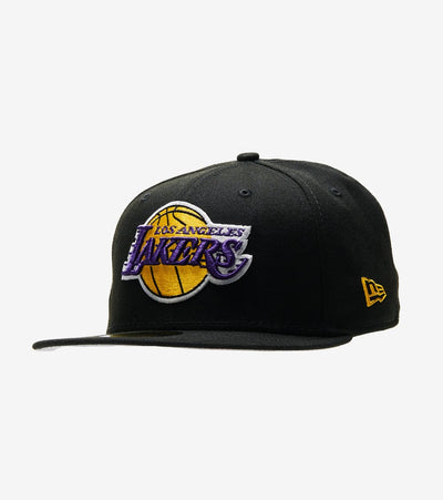 New Era  59fifty Lakers Fitted Cap  Black - 70343347-ERA | Jimmy Jazz