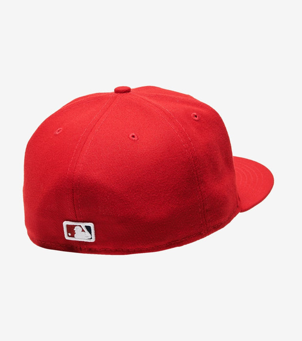 New Era  Nationals Fitted Cap  Red - 70357719-ERA | Jimmy Jazz