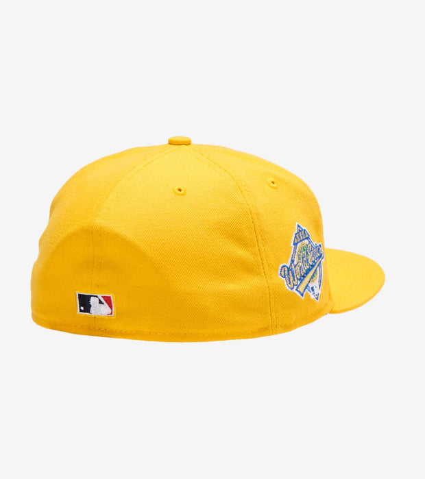 New Era  96 New York Yankees Fitted Cap  Yellow - 70569209-ERA | Jimmy Jazz