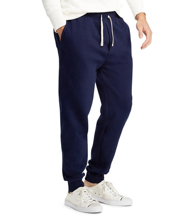 Polo Ralph Lauren  Athletic Fleece Ribbed Cuff Pants  Navy - 710600105002-CNV | Jimmy Jazz