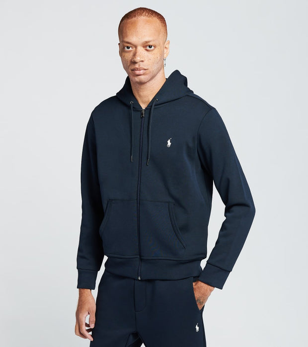 Polo Ralph Lauren  Double Knit Tech Full Zip Hoodie  Navy - 710652313008-ANV | Jimmy Jazz