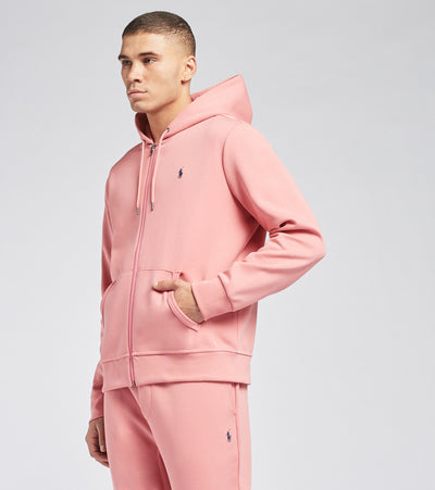 Polo Ralph Lauren  Double Knit Tech Fleece Hoodie  Pink - 710652313058-DRS | Jimmy Jazz