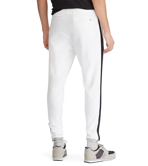 Polo Ralph Lauren  Track Pants With Side Stripe  White - 710695247007-WBK | Jimmy Jazz