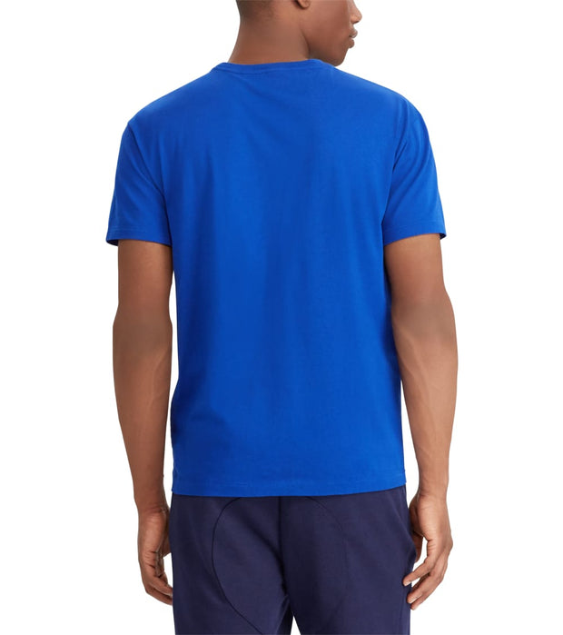 Polo Ralph Lauren  Cotton Short Sleeve Tee  Blue - 710715703004-RRL | Jimmy Jazz