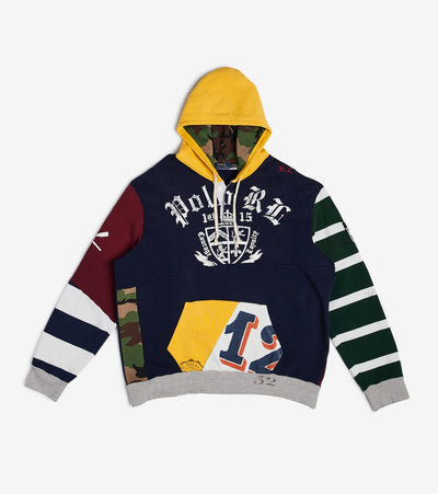 Polo Ralph Lauren  Fleece Graphic Hoodie  Multi - 710719785001-GBM | Jimmy Jazz