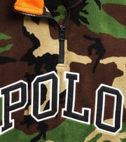 Polo Ralph Lauren  Polar Fleece Long Sleeve Half Zip M1   Camo - 710719882006-CAM | Jimmy Jazz