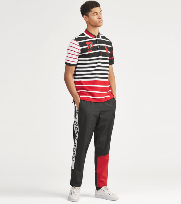 Polo Ralph Lauren  Classic Fit P-Wing Mesh Polo  Multi - 710740448001-PBK | Jimmy Jazz