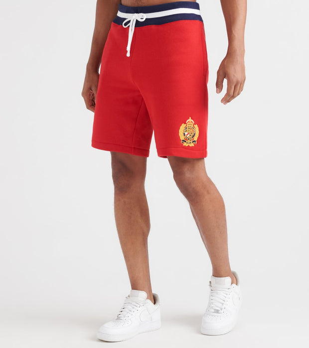 Polo Ralph Lauren  Cotton Blend Fleece Short  Red - 710740902002-RRD | Jimmy Jazz