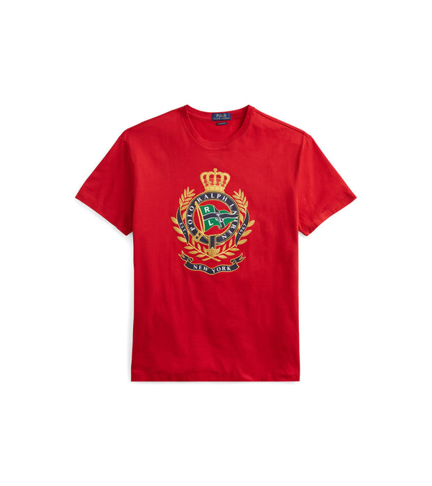 Polo Ralph Lauren  Classic Fit Cotton Graphic Tee  Red - 710741106003-RED | Jimmy Jazz