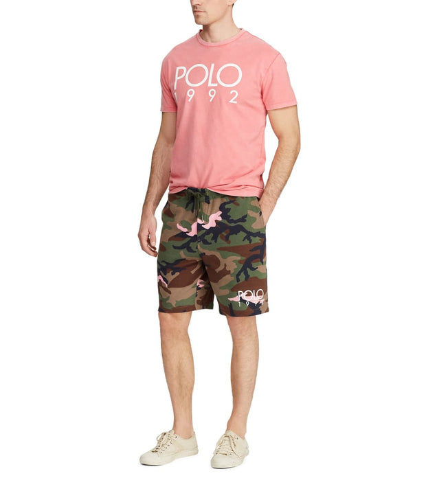 Polo Ralph Lauren  Cotton-Blend-Fleece Short  Pink - 710746444005-OPC | Jimmy Jazz