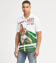 Polo Ralph Lauren  Custom Slim Fit Mesh Polo  White - 710746456001-WTM | Jimmy Jazz