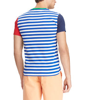 Polo Ralph Lauren  Classic Fit Color-Blocked Tee  Blue - 710746756002-SPH | Jimmy Jazz