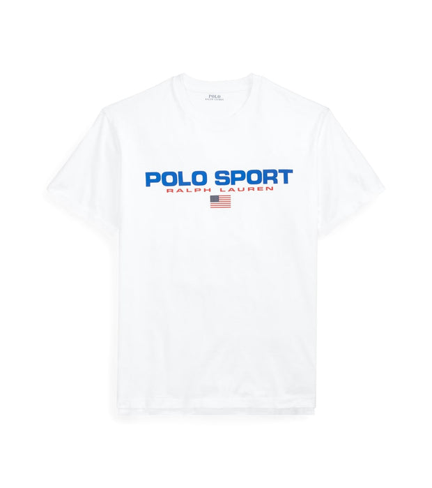 Polo Ralph Lauren  Polo Sport Icons SS Tee  White - 710750444002-WHT | Jimmy Jazz
