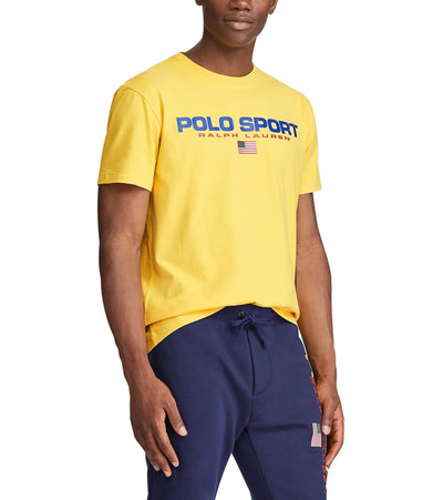 Polo Ralph Lauren  Polo Sport Icon Short Sleeve Tee  Yellow - 710750444006-CYL | Jimmy Jazz