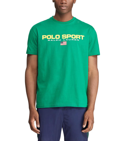 Polo Ralph Lauren  Polo Sport Icon Short Sleeve Tee  Green - 710750444008-EGN | Jimmy Jazz
