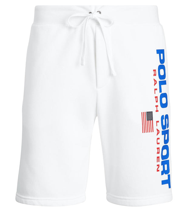 Polo Ralph Lauren  Polo Sport Fleece Short  White - 710750457001-WHT | Jimmy Jazz