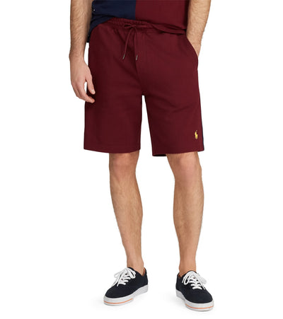 Polo Ralph Lauren  Cotton Interlock Short  Burgundy - 710750707003-CWN | Jimmy Jazz