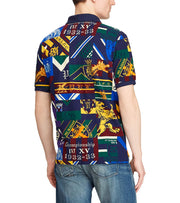 Polo Ralph Lauren  Custom Slim Fit Mesh Polo  Multi - 710754051001-CPW | Jimmy Jazz