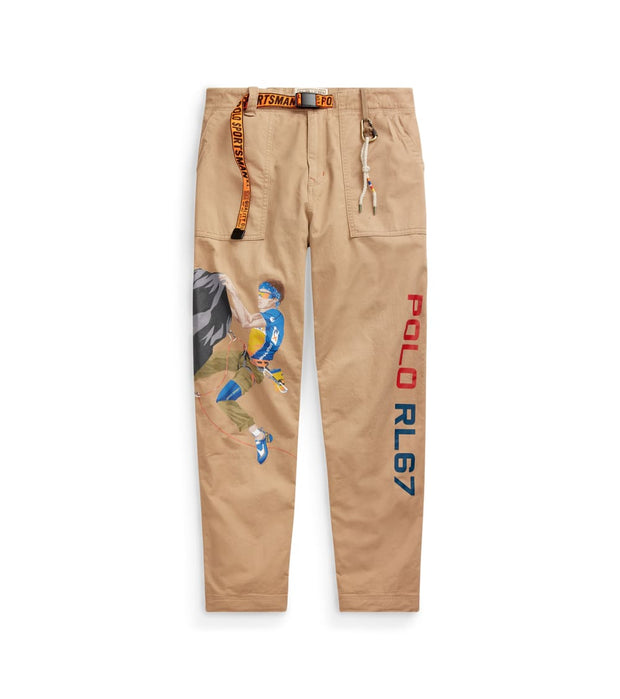 Polo Ralph Lauren  Climbing Chino  Beige - 710759780001-KHK | Jimmy Jazz