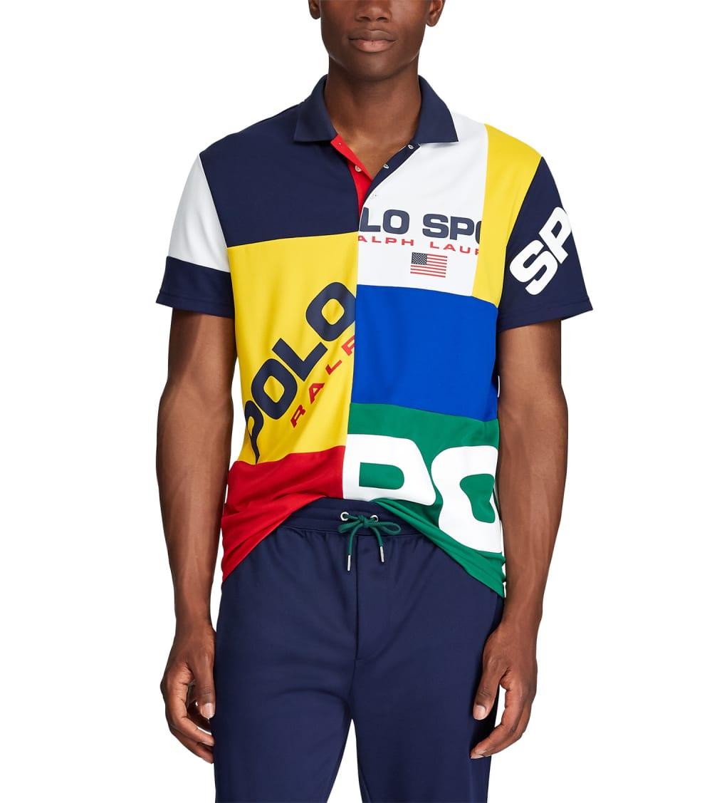 Polo Ralph Lauren  Classic Fit Tech Piqué Polo  Multi - 710761071001-JGM | Jimmy Jazz