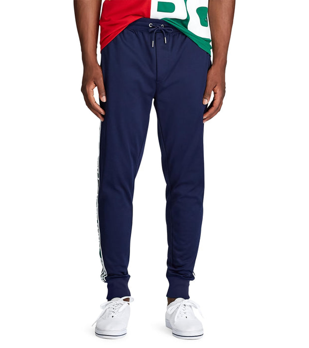 Polo Ralph Lauren  Poly Tricot Fleece Track Pants  Navy - 710761093004-CNV | Jimmy Jazz