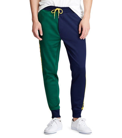 Polo Ralph Lauren  Fleece Graphic Track Pant  Navy - 710761094001-CNM | Jimmy Jazz