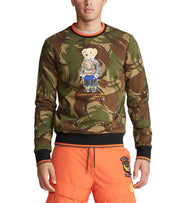 Polo Ralph Lauren  Polo Bear Camo Sweatshirt  Green - 710766090001-CAM | Jimmy Jazz