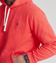 Polo Ralph Lauren  Fleece Pullover Hoodie   Red - 710766778019-RRD | Jimmy Jazz