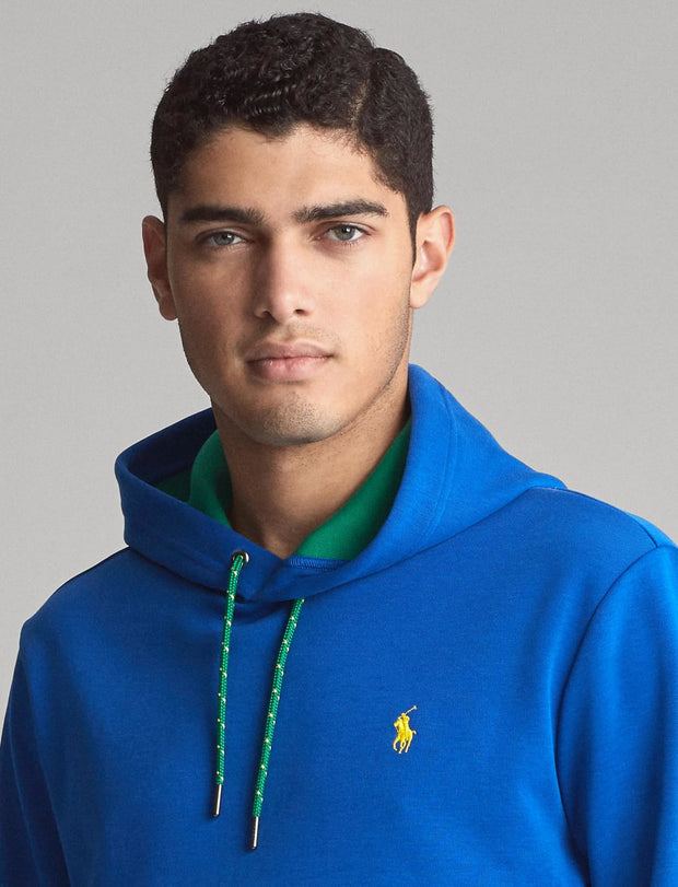 Polo Ralph Lauren  Double Knit Tech Long Sleeve Pull Over   Blue - 710766990001-SPH | Jimmy Jazz