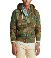 Polo Ralph Lauren  Athletic Fleece Hoodie  Green - 710780389001-BEC | Jimmy Jazz