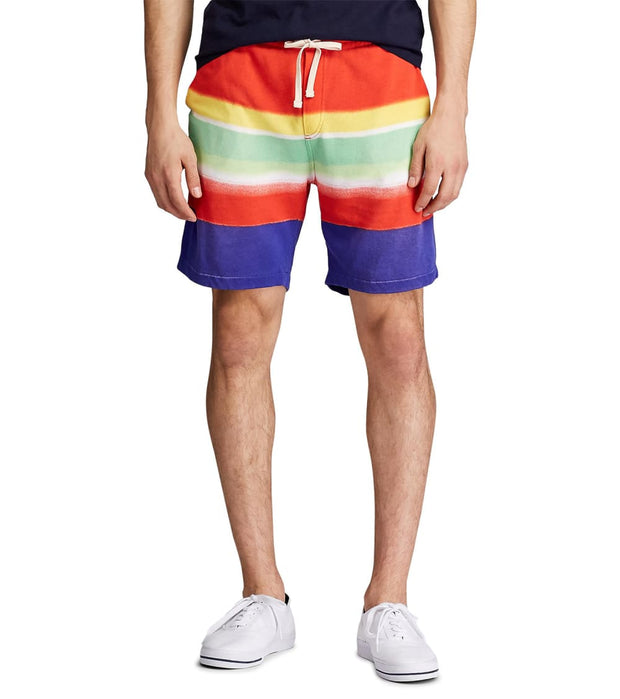 Polo Ralph Lauren  Spectra French Terry Short  Multi - 710781398001-STR | Jimmy Jazz