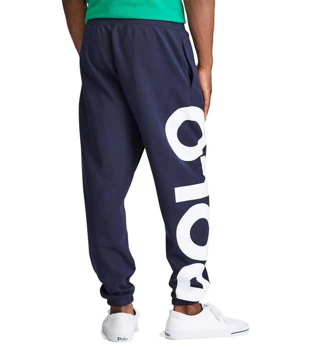 Polo Ralph Lauren  Double-Knit Logo Jogger Pant  Navy - 710781441002-ANM | Jimmy Jazz